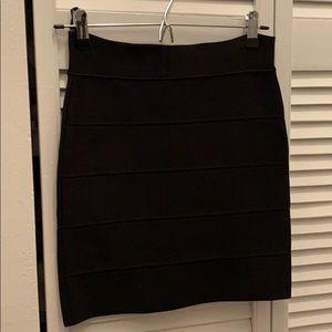 """Black bandage """"simone"""" mini skirt"""